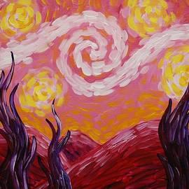 Emily Page - Van Gogh Sunset