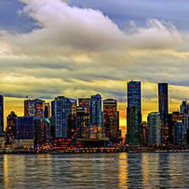 Vancouver in yellow. by Viktor Birkus