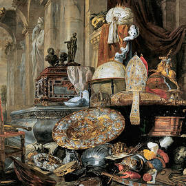 Vanitas Allegory 1663 by Pieter Boel