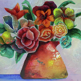 Terry Honstead - Vase Full of Peace and Delight