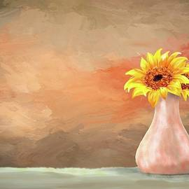 Vase full of Sun....flowers. by Mary Timman