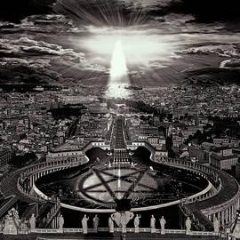 Marian Voicu - Vatican Rocking View Black and White