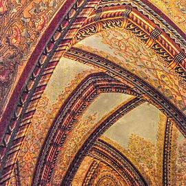 Vault Of Matthias Church by Michael Kirk