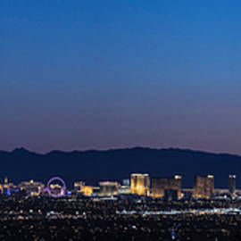 Vegas At Blue Hour  by John McGraw