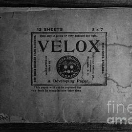 Velox Developing Paper Antique Paper by Edward Fielding