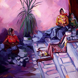 Venders at Copper Canyon by Nancy Griswold