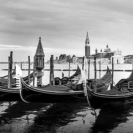 Venice and Gondolas by Kaan Sensoy