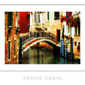 Mike Nellums - Venice Canal poster