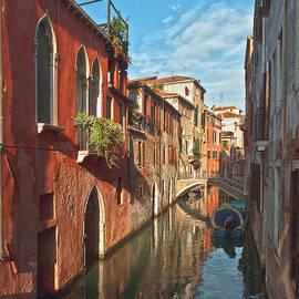Venice canaletto mirror