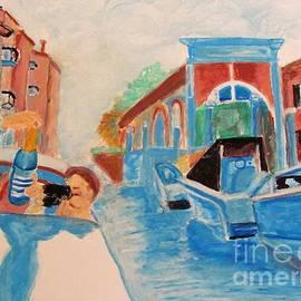 Venice Celebration by Stanley Morganstein