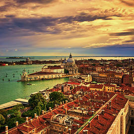 From the bell tower in Venice, Italy by Fine Art Photography Prints By Eduardo Accorinti