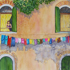 Venice Laundry Day by Patricia Beebe