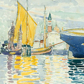 Henri Edmond Cross -  Venice, The Giudecca, 1903