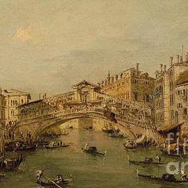 Francesco Guardi - Venice  The Rialto