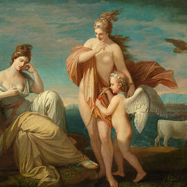 Benjamin West - Venus and Europa