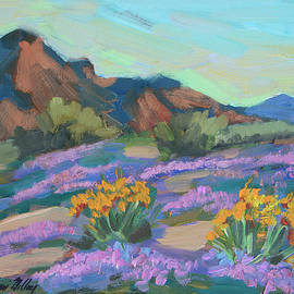 Verbena And Spring by Diane McClary