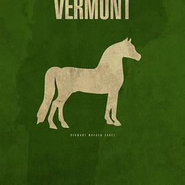 Vermont State Facts Minimalist Movie Poster Art - Design Turnpike