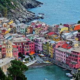 Frozen in Time Fine Art Photography - Vernazza Cinque Terre Gem