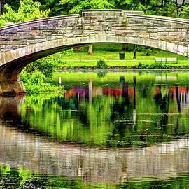 Geraldine Scull - Verona Bridge in spring series