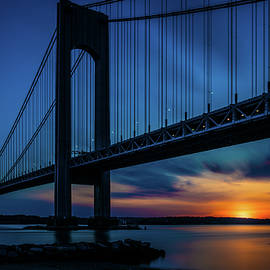 Verrazano Sunset by Chris Lord