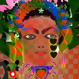 Version De Frida Kahlo by Davileine Borrego