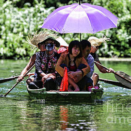 Chuck Kuhn - Very Hot Day at Tam Coc Vietnam
