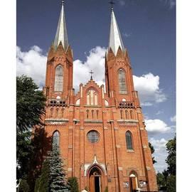 Very Old church In Odrzywol, Poland