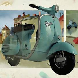 Vespa Memories by Udo Linke