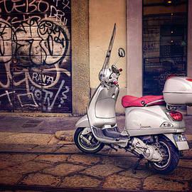 Vespa Scooter in Milan Italy  - Carol Japp