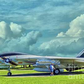 VF-84 at Cecil Field Jacksonville Florida by Janette Boyd