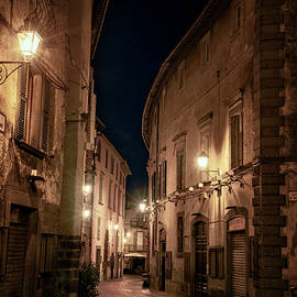 Joan Carroll - Via del Duomo Orvieto Italy