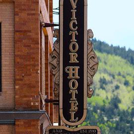 Catherine Sherman - Victor Hotel Sign