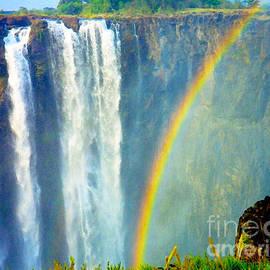 Victoria Falls Rainbow by Jerome Stumphauzer