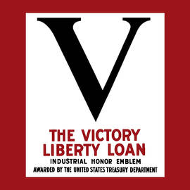 Victory Liberty Loan Industrial Honor Emblem by War Is Hell Store