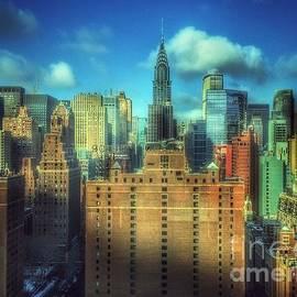 Miriam Danar - View From My Window - Magnificent Skyline of New York