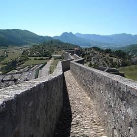 Manuela Constantin - View from Sisteron Citadelle 2