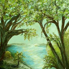 Eloise Schneider - View from the River Bank
