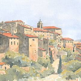 Ian Osborne - View of Gordes