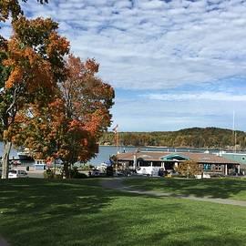 Pamela J Bennett - View of Harbor