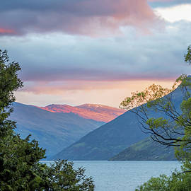 Joan Carroll - View of Lake Wakatipu New Zealand