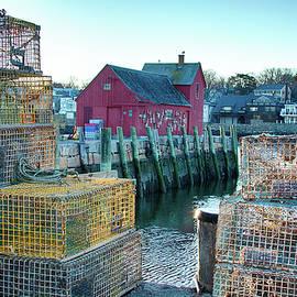 Jeff Folger - View of Motif through lobster pots