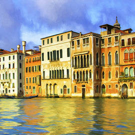 View of the Grand Canal Venice by Dominic Piperata
