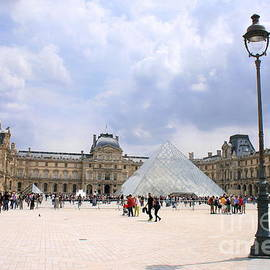 View Of The Louvre by Angela Rath