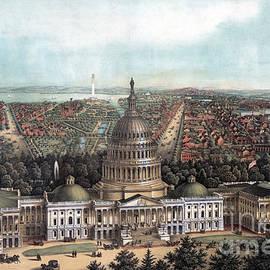 View of Washington DC - E Sachse