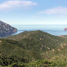 view on La Scandola - Corsica - Joana Kruse