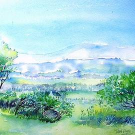 View through the Gap,Wicklow  by Trudi Doyle