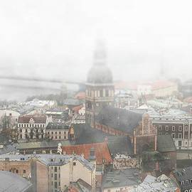 Andrew Ponochovnyi - View To Riga From St. Peter