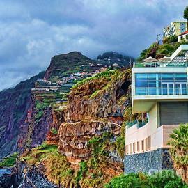 Viewpoint Over Camara De Lobos Madeira Portugal by Brenda Kean