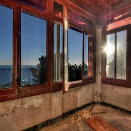 Villa Of Windows On The Sea - Villa Delle Finestre Sul Mare IIi by Enrico Pelos