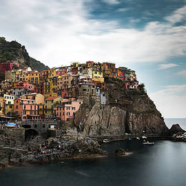 Village of Manarola CinqueTerre, Liguria, Italy by Michalakis Ppalis
